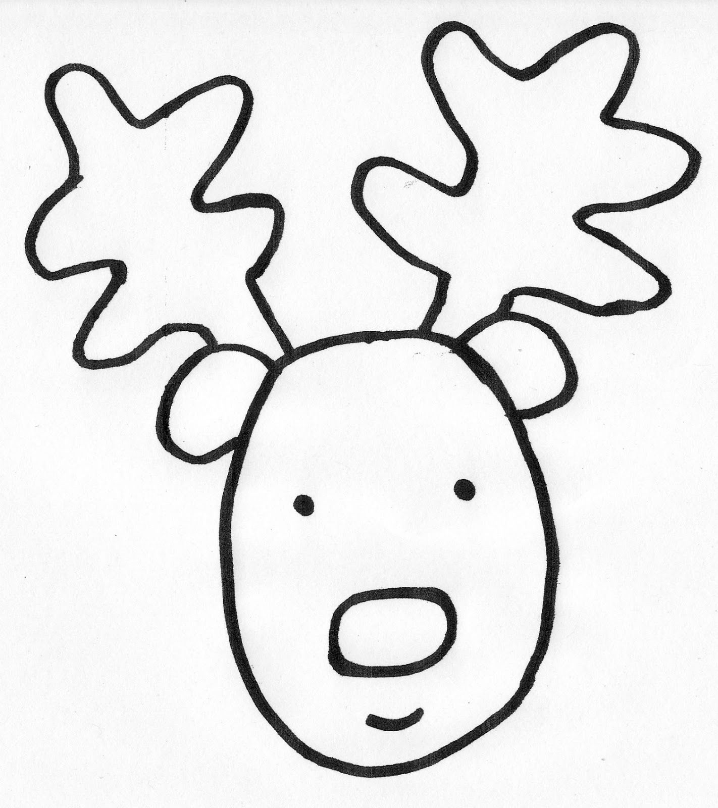 how to draw a reindeer face how to draw how to draw a reindeer for kids hellokidscom draw how reindeer a to face