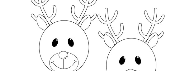 how to draw a reindeer face how to draw rudolph the red nosed reindeer step by step a to draw reindeer how face