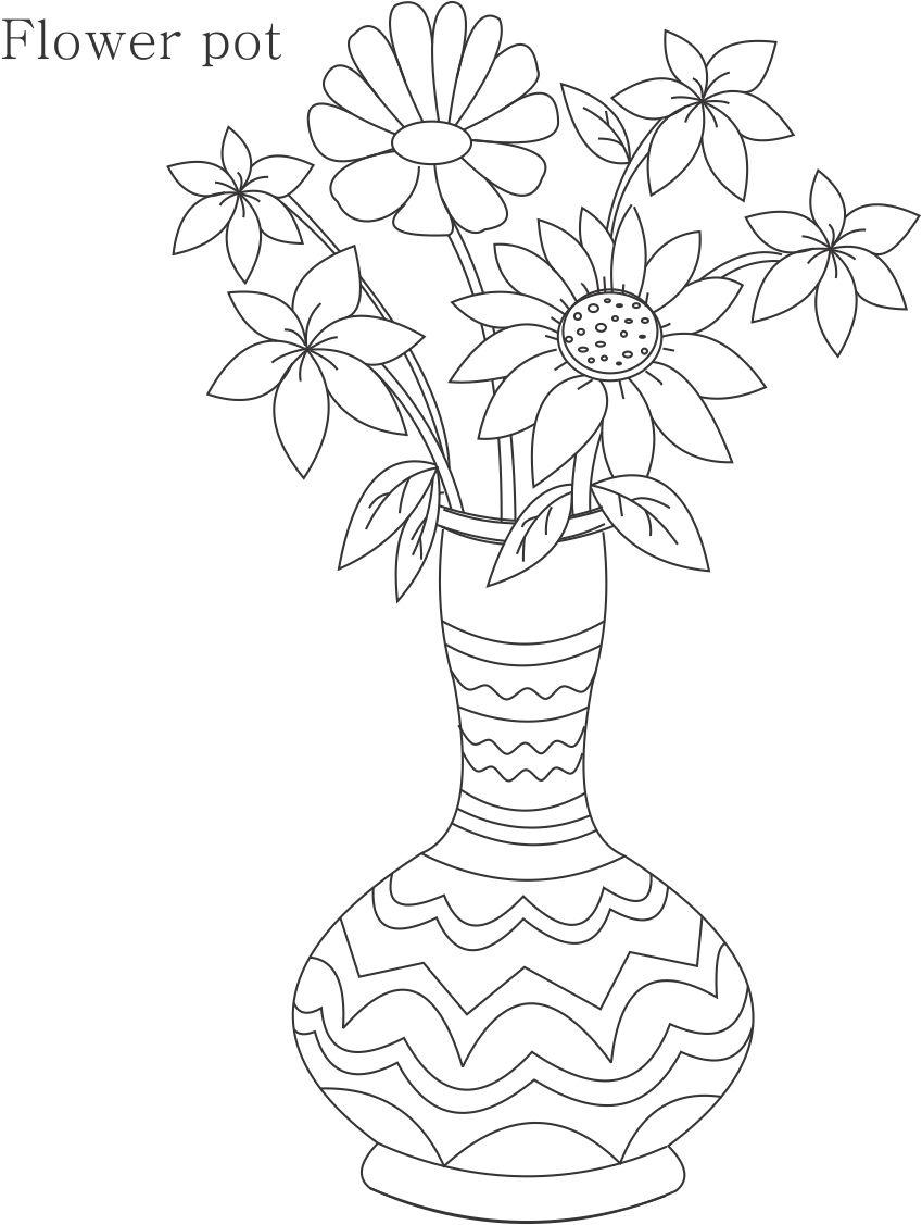 how to draw a vase with flowers step by step beautiful drawing pictures of flowers at getdrawings vase how step step flowers draw with to a by