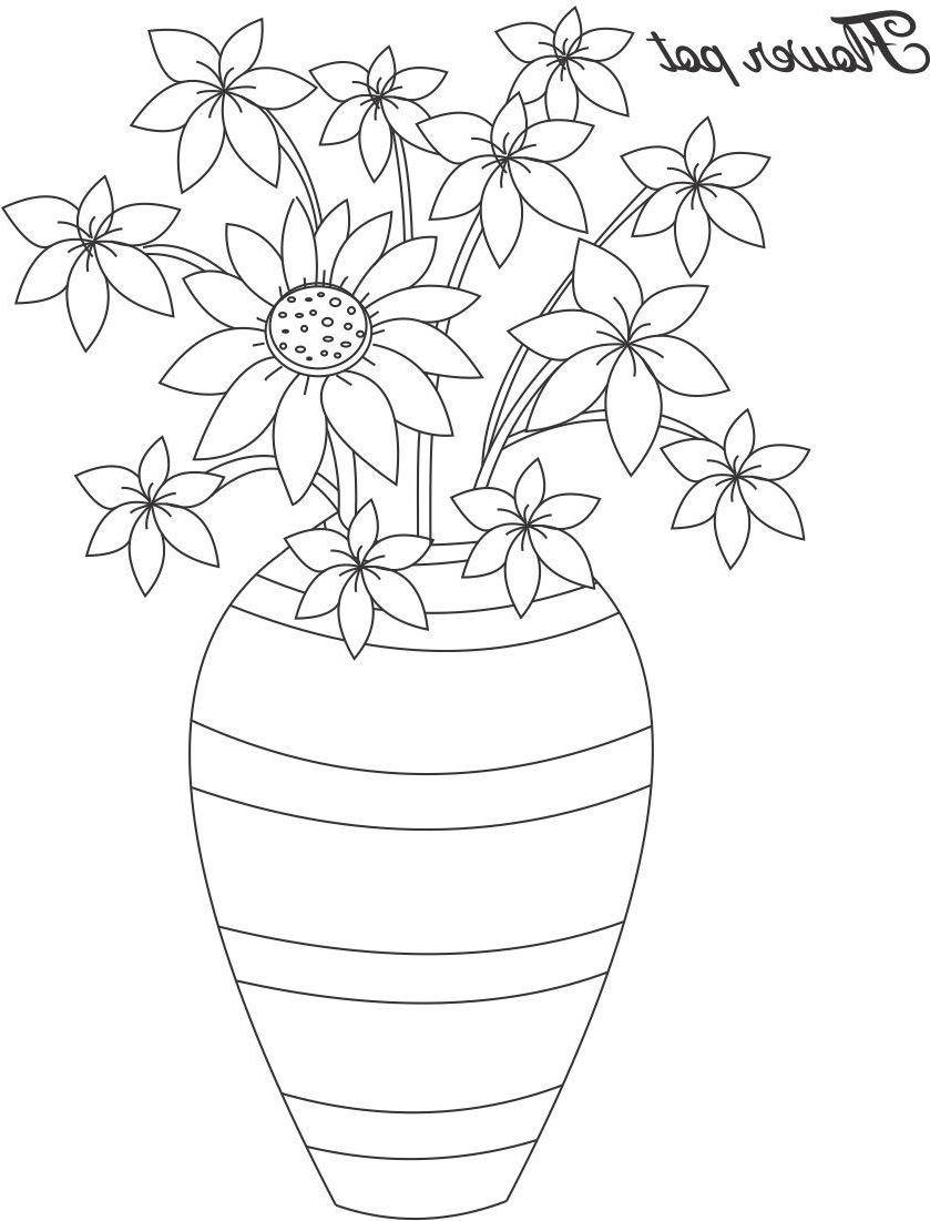 how to draw a vase with flowers step by step flowers in vase drawing at getdrawings free download flowers with step draw how to step by a vase