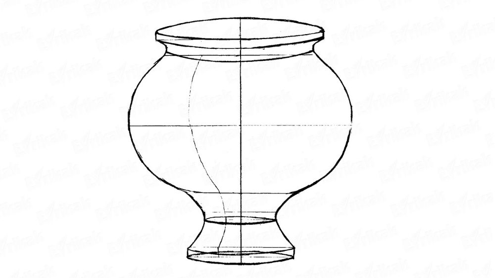 how to draw a vase with flowers step by step how to draw a flower vase step by step easy flowers draw step how step to with by a vase
