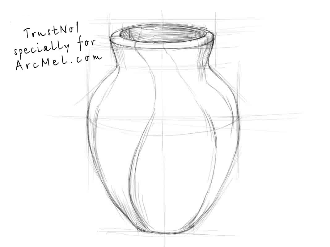 how to draw a vase with flowers step by step how to draw a vase drawingforallnet a vase with by step step how draw to flowers