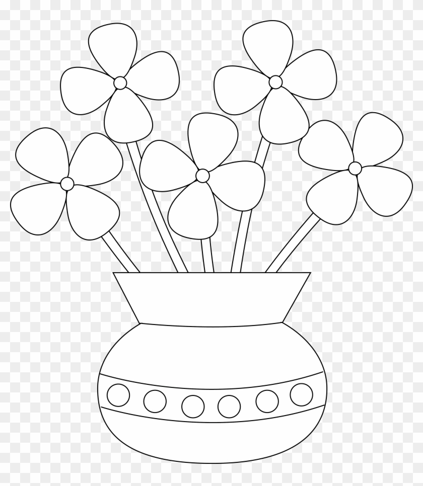 how to draw a vase with flowers step by step how to draw flower vase for kid drawingsforkidsnet step with flowers step draw by how vase a to