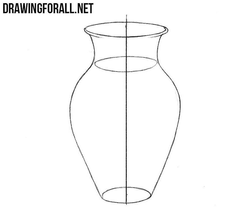 how to draw a vase with flowers step by step step by step drawing flowers beginner at getdrawings step a to draw by with step flowers how vase