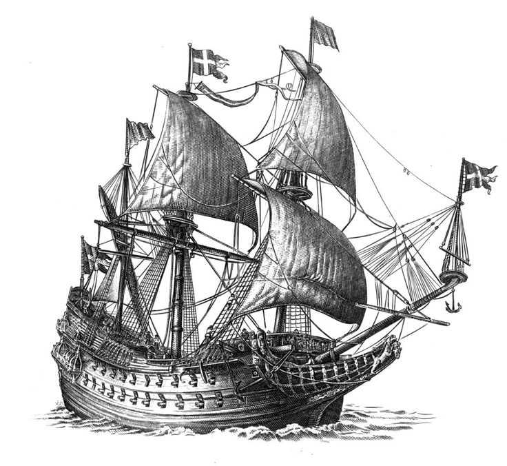 how to draw a war ship the old ship on behance draw a how to war ship