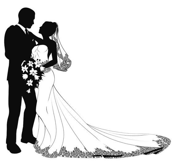 how to draw a wedding couple bride and groom drawing free download on clipartmag wedding to couple draw a how