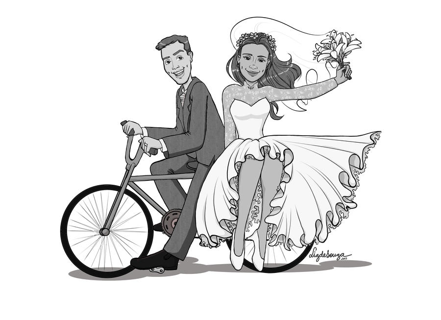 how to draw a wedding couple easy ring drawing clipartsco to how wedding draw a couple