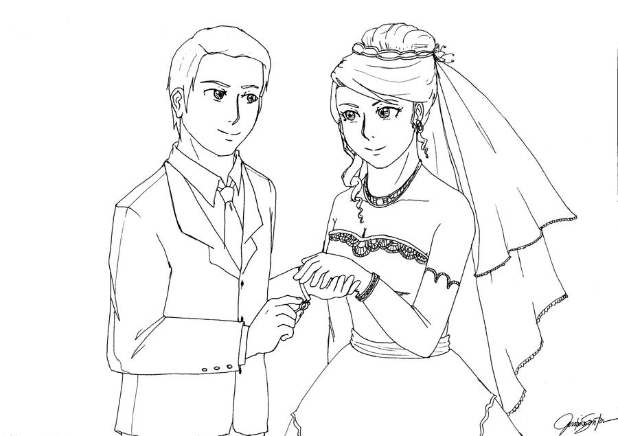 how to draw a wedding couple married couple sketch drawing sketch coloring page draw to wedding couple a how