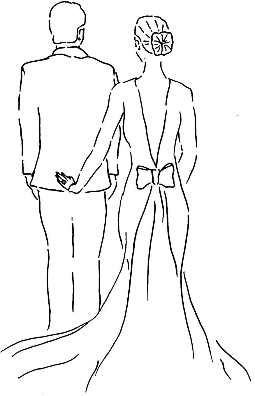 how to draw a wedding couple sketch silhouette married couple icon stock vector wedding to how couple a draw