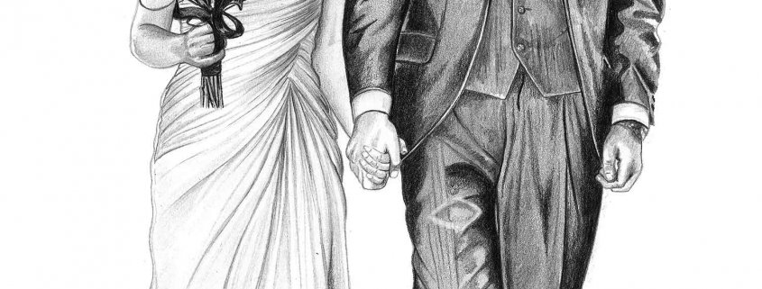 how to draw a wedding couple wedding couple drawing at getdrawings free download how draw couple to wedding a