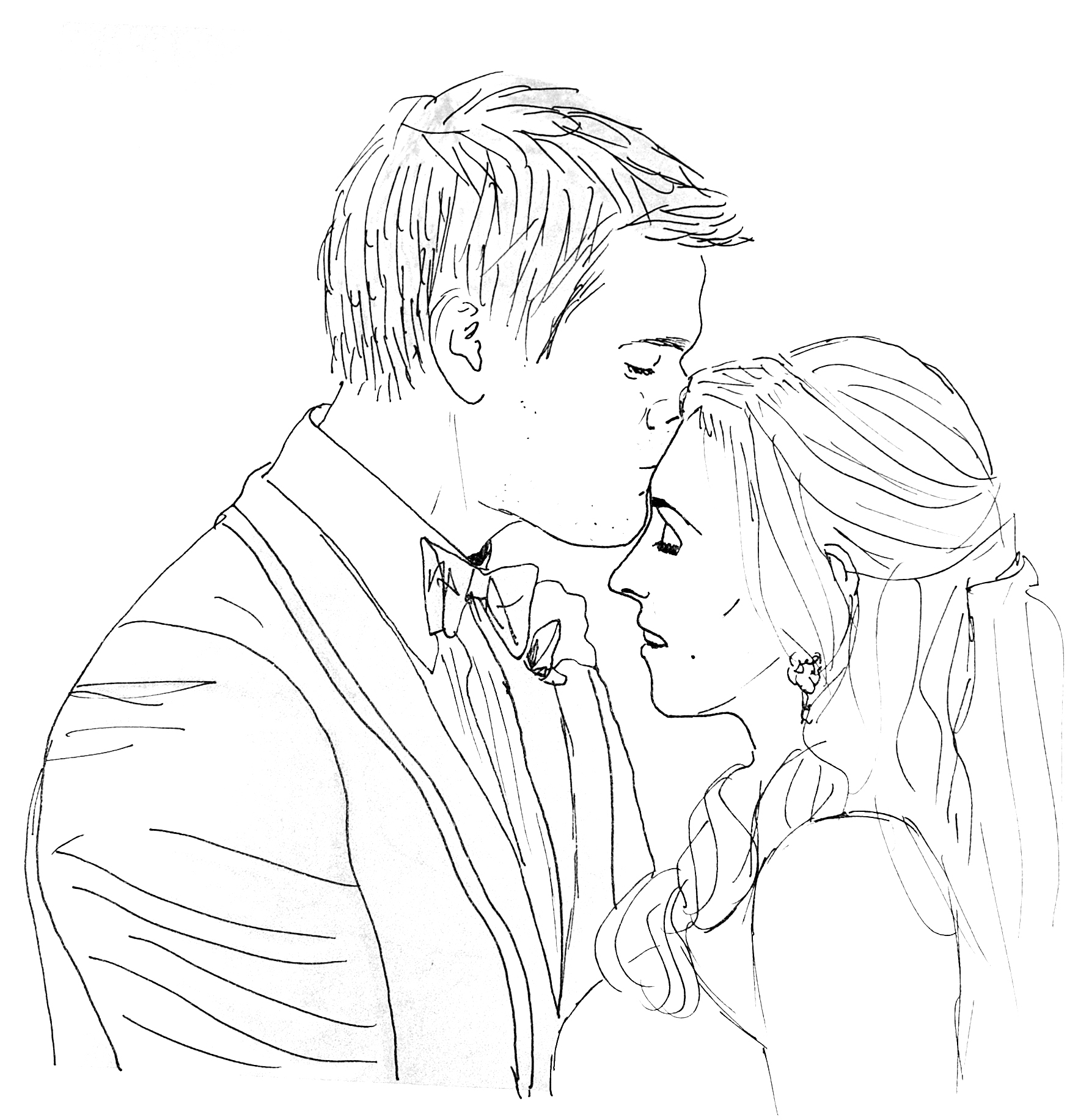 how to draw a wedding couple wedding couple drawing at getdrawings free download how to couple a draw wedding