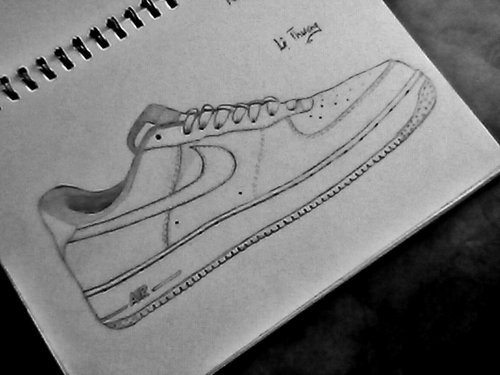 how to draw air air force 1 drawing at paintingvalleycom explore to how draw air