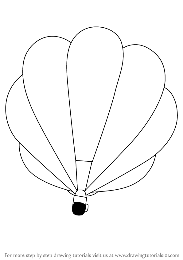 how to draw air how to draw an air balloon step by step arcmelcom to draw air how