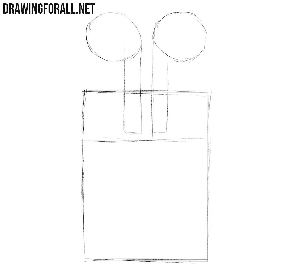 how to draw air how to draw apple airpods drawingforallnet draw how to air