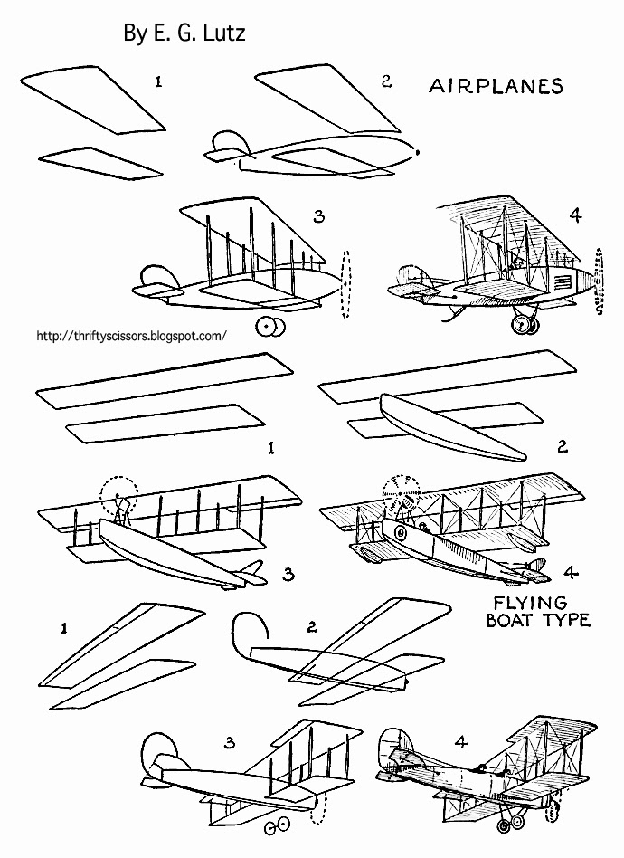 how to draw air how to draw old fashioned airplanes thrifty scissors draw to air how
