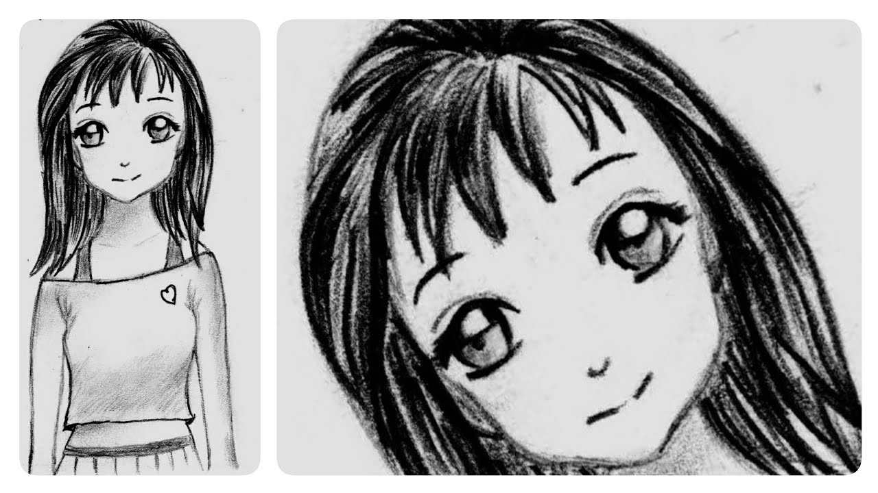 how to draw an anime girl step by step beginner steps to draw anime girl how girl by to draw anime step step an