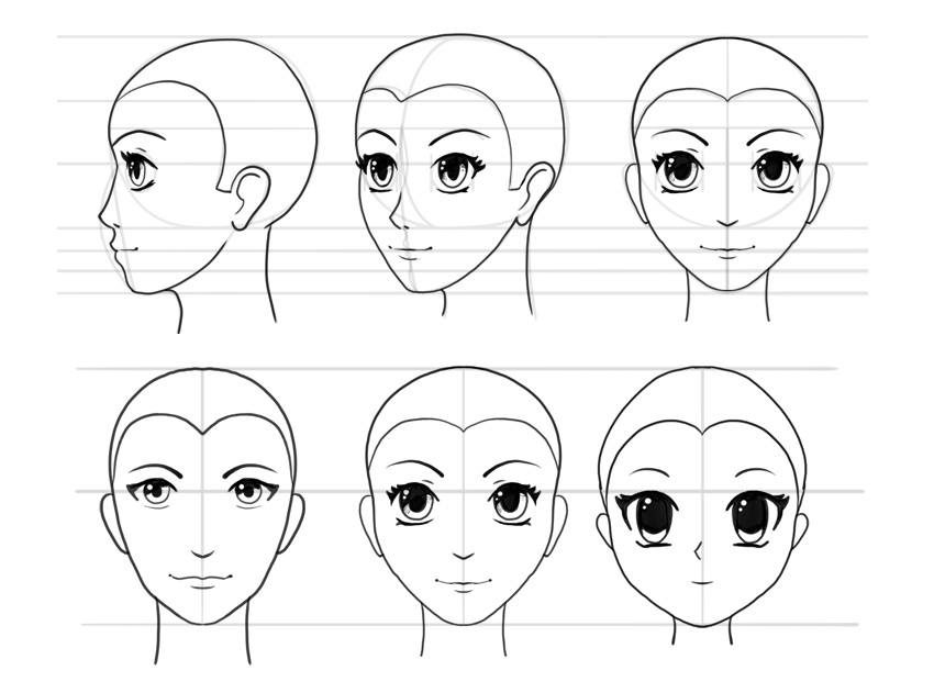 how to draw an anime girl step by step easy anime nose drawing creative art an to by anime how step girl draw step