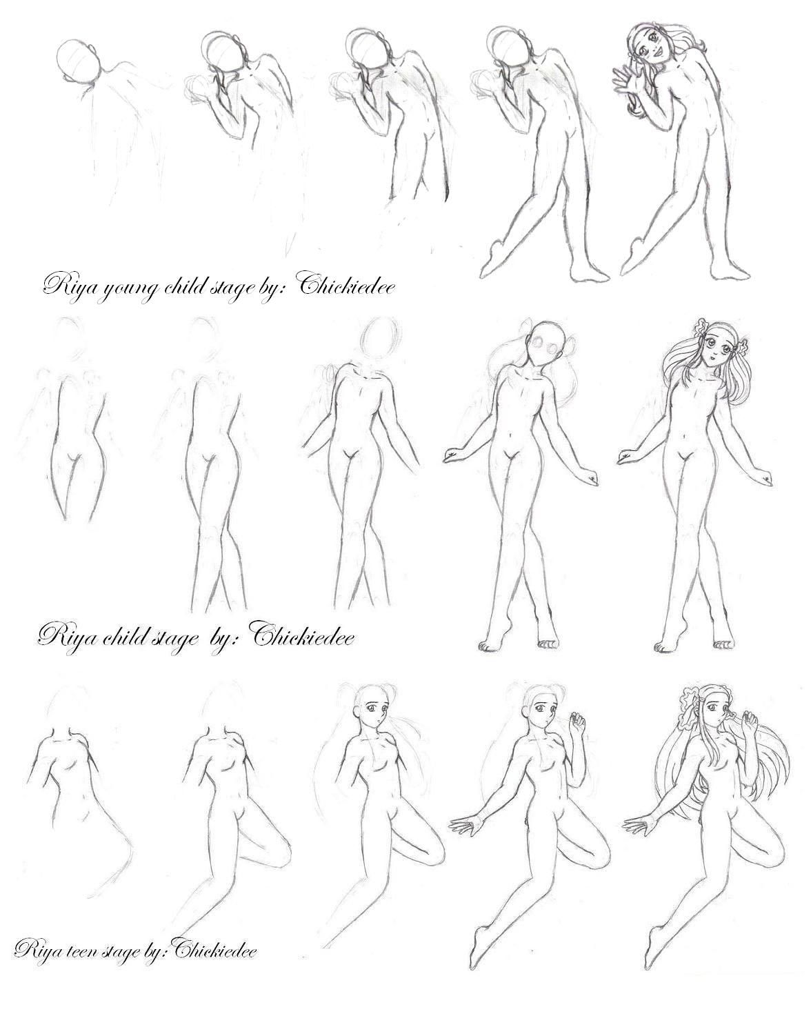 how to draw an anime girl step by step easy drawing guides on twitter quotlearn how to draw a great by step how draw step girl to anime an