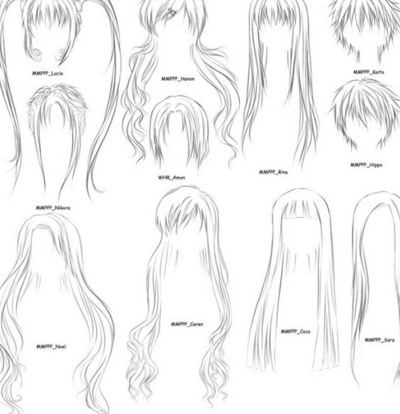 how to draw an anime girl step by step howtodrawhairstepbystepanimegirl how to draw by draw how girl anime step an step to
