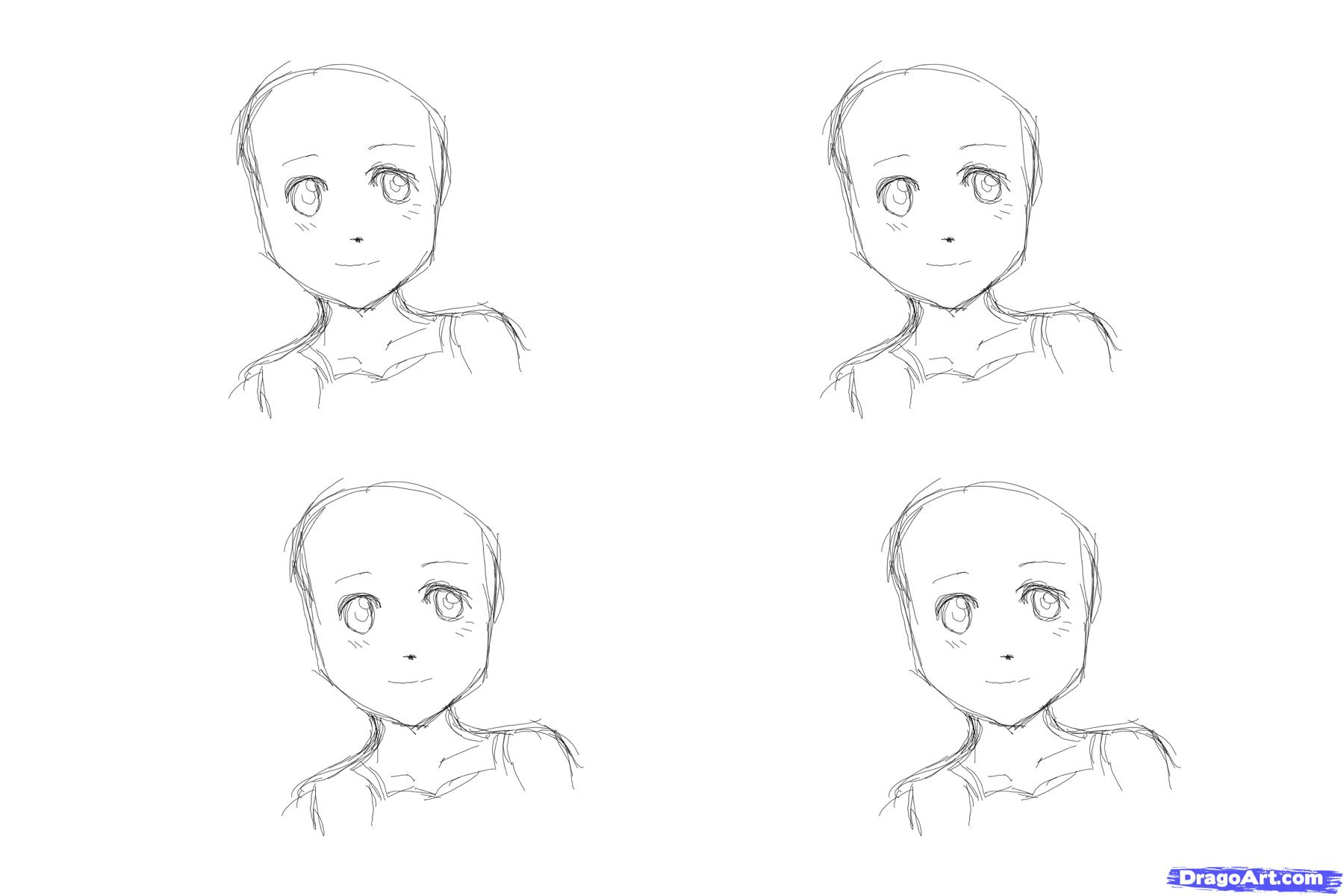 how to draw an anime girl step by step to draw anime hair for girls step by step anime hair an draw anime by to how step girl step
