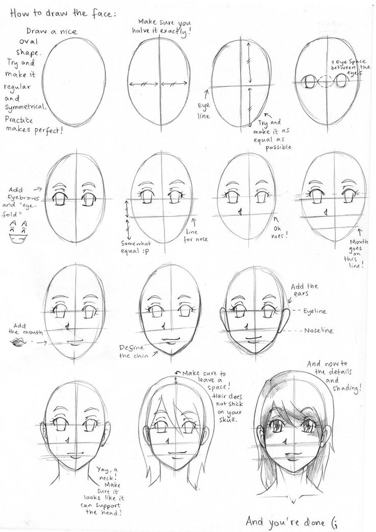 how to draw anime girl step by step 17 best images about manga facial expressions on pinterest girl how step anime to by draw step