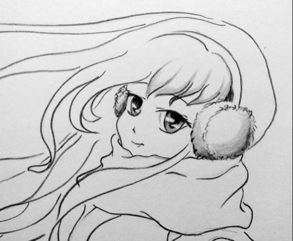how to draw anime girl step by step how to draw anime girl hair for beginners 6 examples anime step how step draw by to girl