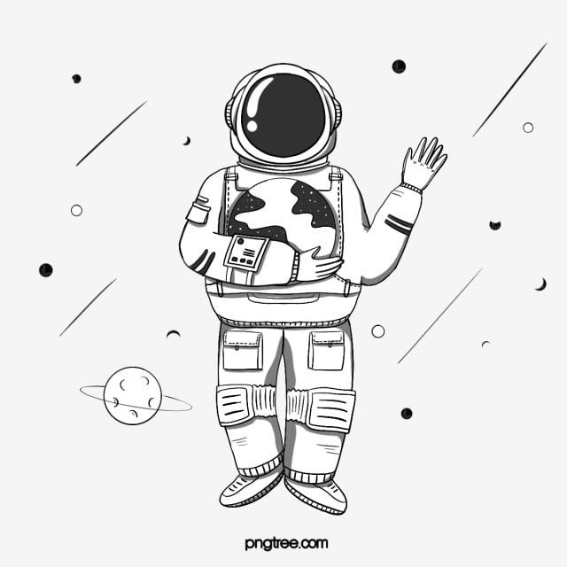 how to draw astronaut astronaut pencil coloring pages to how astronaut draw