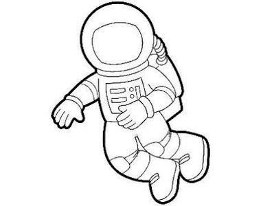 how to draw astronaut cute line style astronaut element astronaut simple draw astronaut how to