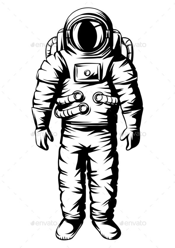 how to draw astronaut engraving draw with funny cool dude astronaut spaceman in draw to astronaut how