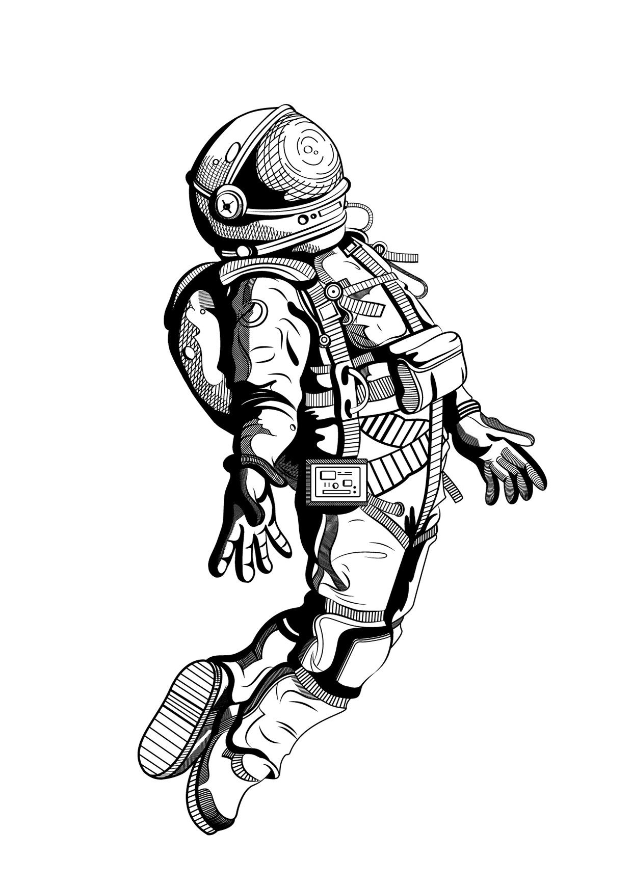 how to draw astronaut how to draw an astronaut and lots of other things too to astronaut draw how