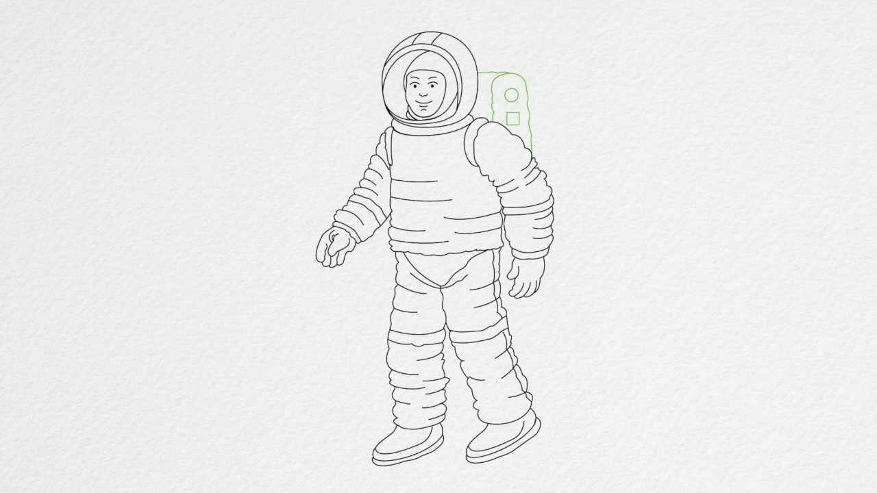 how to draw astronaut how to draw an astronaut easy drawing tutorials for kids how astronaut to draw