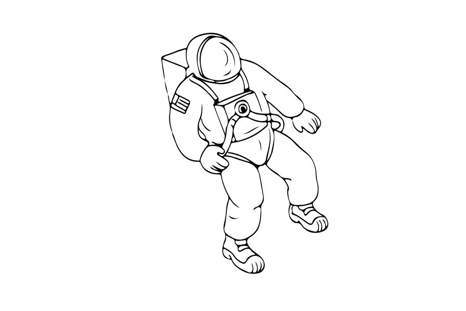 how to draw astronaut space astronaut balloon planet freetoedit to draw how astronaut