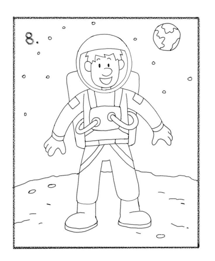 how to draw astronaut the best free nasa drawing images download from 121 free draw to how astronaut