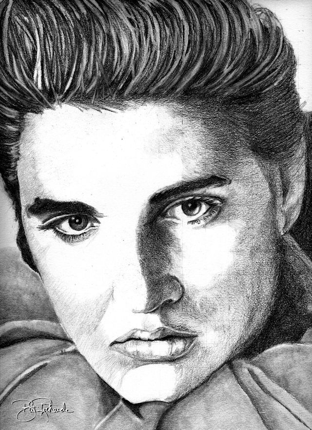 how to draw elvis presley easy 7 best pen pencil ink charcoal drawings images on how draw presley easy to elvis