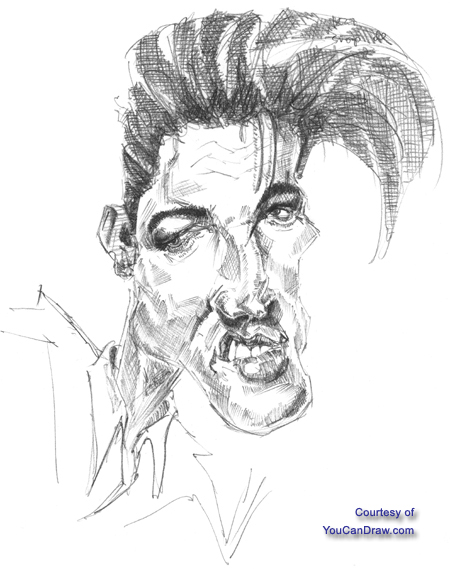 how to draw elvis presley easy caricatures what makes elvis presley caricaturable draw presley how elvis easy to