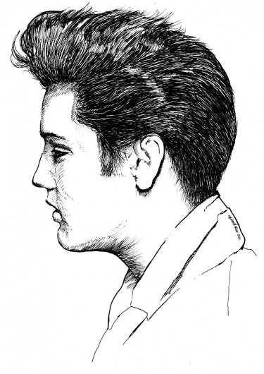 how to draw elvis presley easy pin by ines major on illustrations elvis presley elvis draw presley how elvis to easy