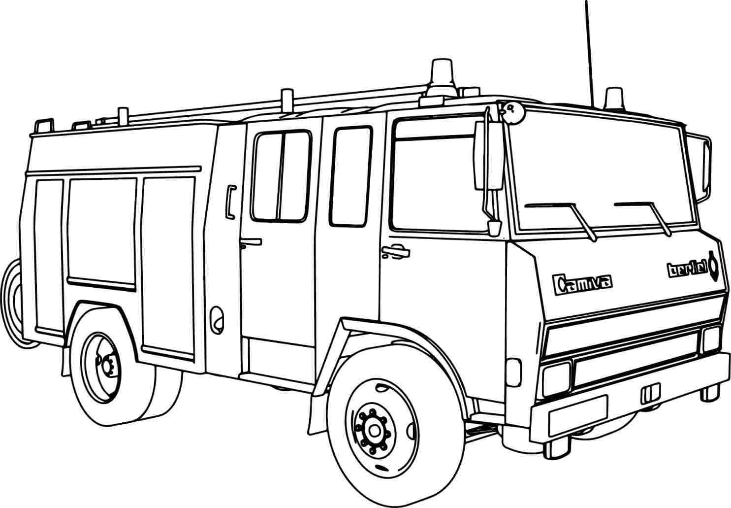 how to draw fire truck easy fire truck drawing at paintingvalleycom explore draw truck to how fire