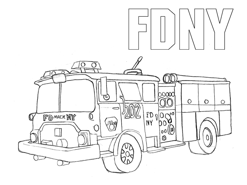 how to draw fire truck fire truck drawing pictures at getdrawings free download how draw to fire truck