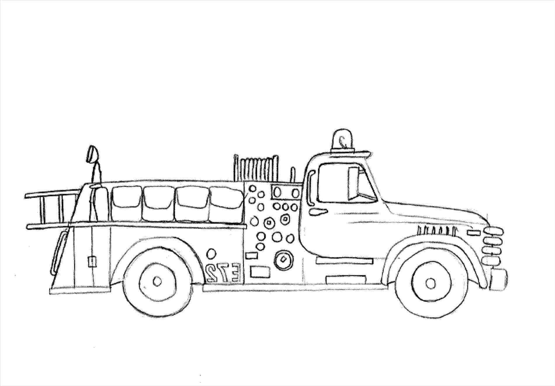 how to draw fire truck fire truck drawing pictures at paintingvalleycom how truck draw to fire