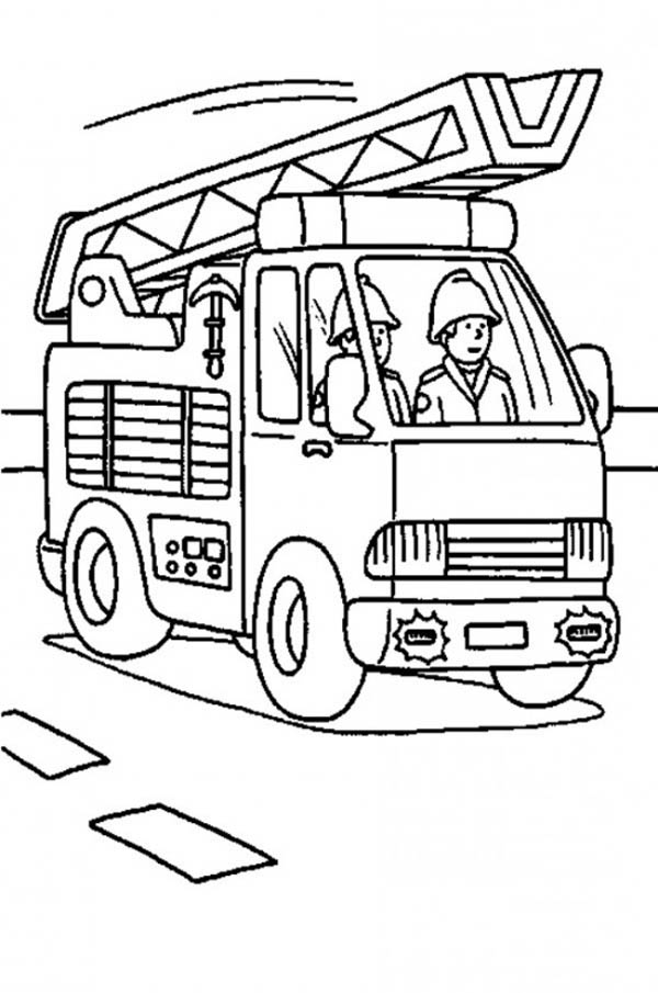 how to draw fire truck fire truck is on the way coloring page coloring sky fire to truck how draw