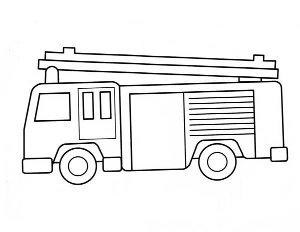 how to draw fire truck how to draw a fire truck coloring page coloring sky to how truck draw fire