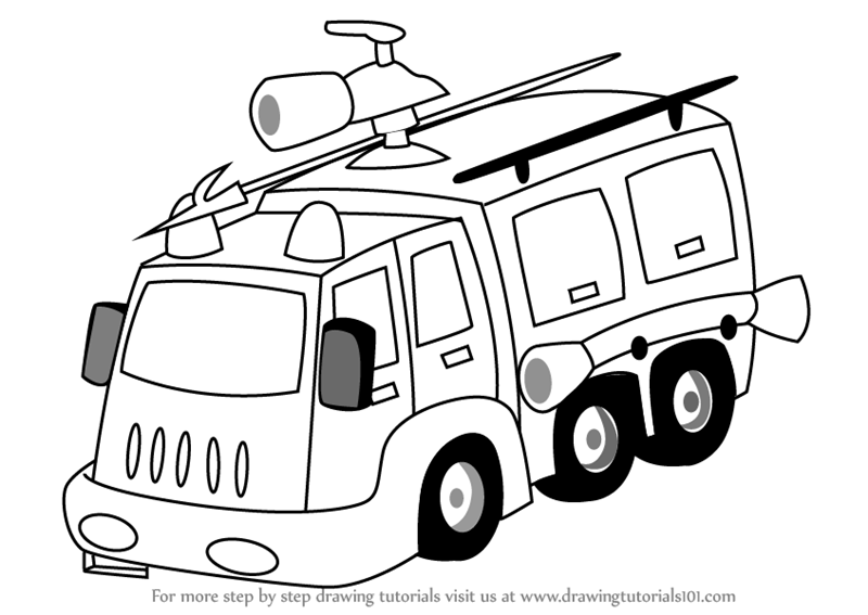 how to draw fire truck learn how to draw a fire fighter truck trucks step by how truck to fire draw