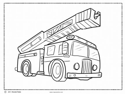 how to draw fire truck simple fire truck drawing at getdrawings free download draw to fire truck how