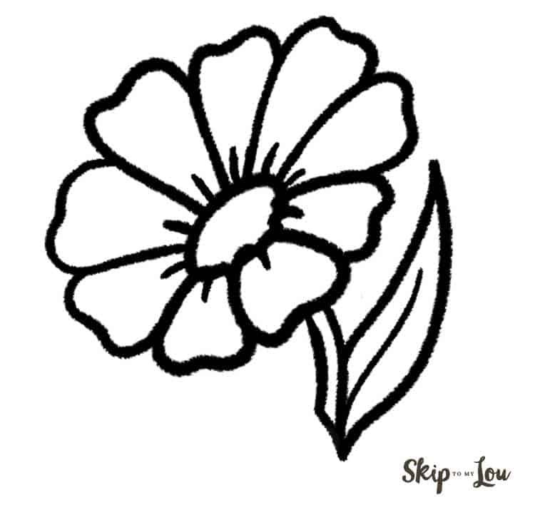 how to draw flowers flowers easy sketch at paintingvalleycom explore flowers to how draw