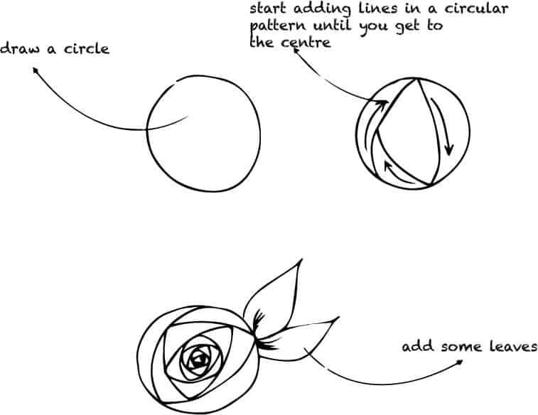 how to draw flowers learn to draw flowers with shapes lesson 7 jspcreate draw to how flowers