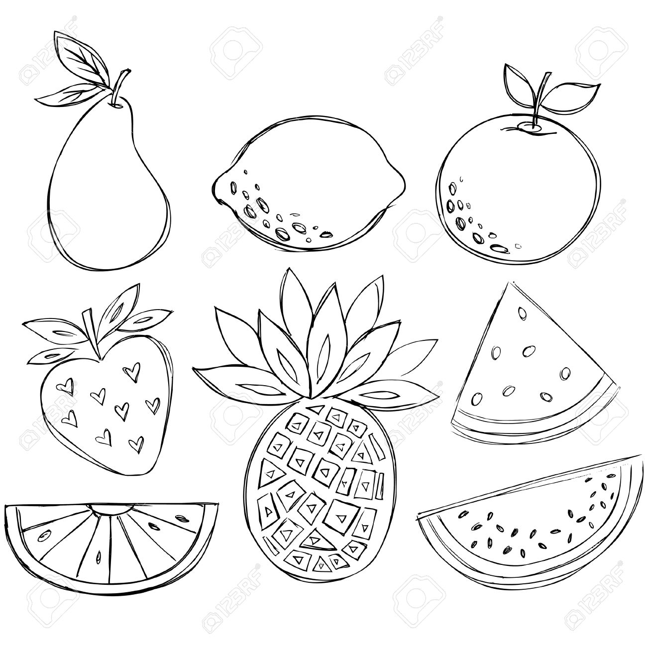 how to draw fruit 50 learn how to draw a fruit basket for kids step by step draw to fruit how