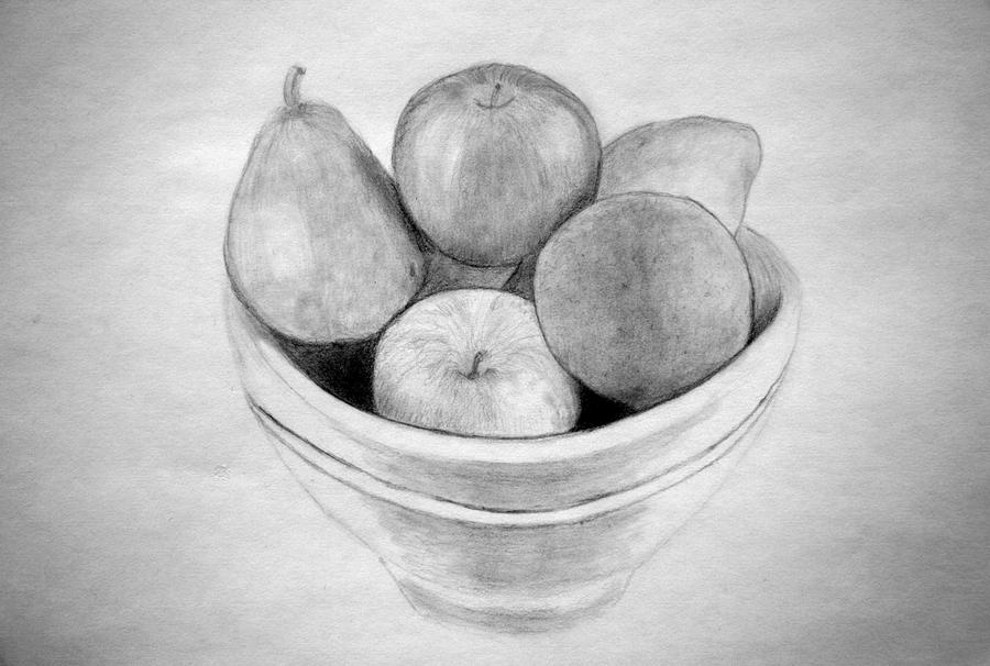 how to draw fruit in a bowl bowl of fruit by pmucks on deviantart in how bowl fruit to draw a