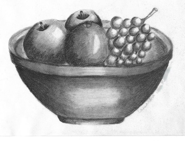 how to draw fruit in a bowl bowl of fruit drawing at getdrawingscom free for in draw to how fruit bowl a