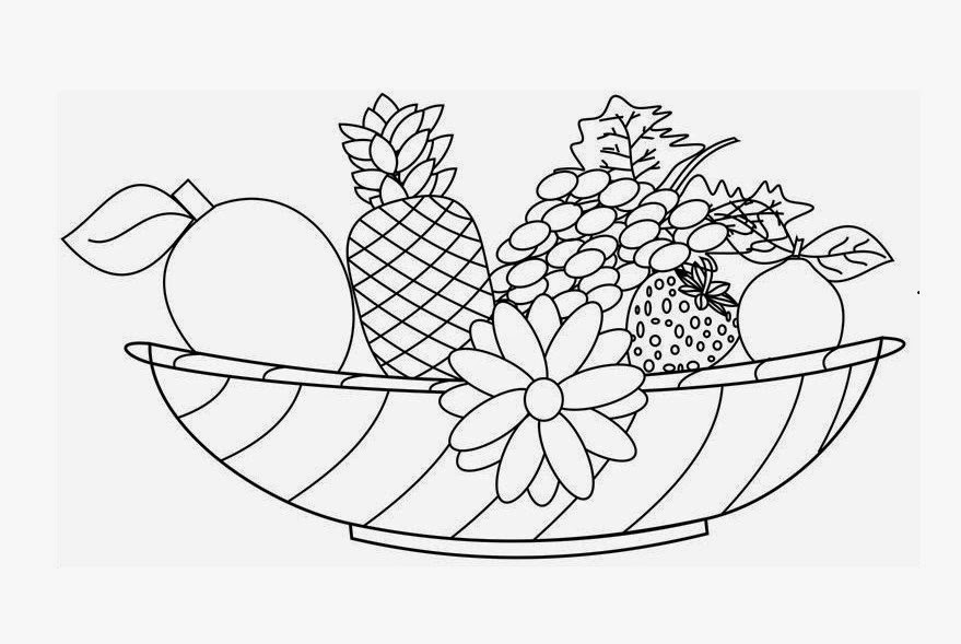 how to draw fruit in a bowl fruit bowl drawing at getdrawings free download how fruit draw a to in bowl
