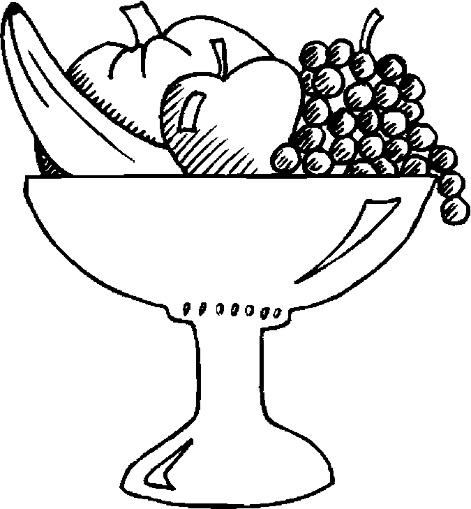 how to draw fruit in a bowl fruit bowl sketch at paintingvalleycom explore in a bowl fruit to how draw